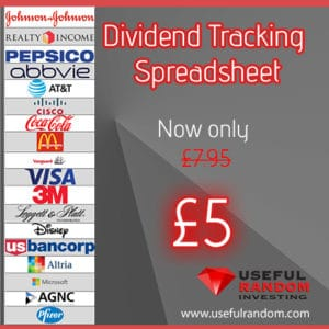 Dividend Tracking Spreadsheet
