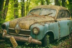 Driving an old car will make you a millionaire