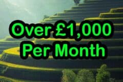 Over £1000 Per Month